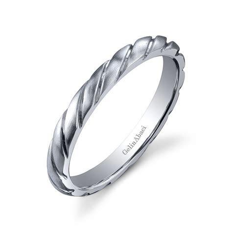 Gelin Abaci Amore Men's Wedding Band #B 223   Diamond