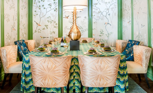Inspiration | Robert Allen - Beacon Hill Introduces Maravilha Collection at DIFFA's Annual Dining By Design | ROBERT ALLEN