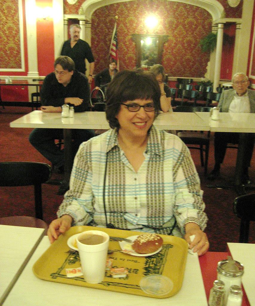 Christine @ Clifton's Cafeteria