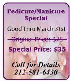 Pedicure/Manicure Massage Special