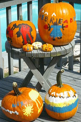 Flickr.com - Painted Pumpkins