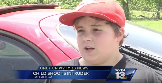This Cold-Blooded 11-Year-Old Shot a Burglar Then Mocked Him on TV