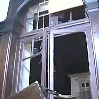 Imagens mostram destruição na Alerj (Reprodução/TV Globo)