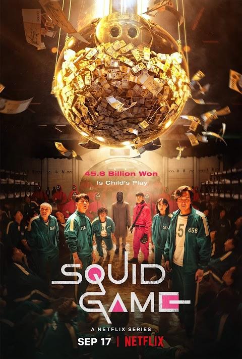 Squid Game Season 01 (2021) 480p 720p 1080p WebRip  Dual Audio (Hindi+English) | Netfix Series