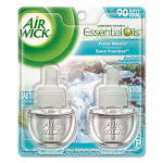 Air Wick Scented Oil Air Freshener Refill, Fresh Waters - 2 count, 0.67 fl oz bottles