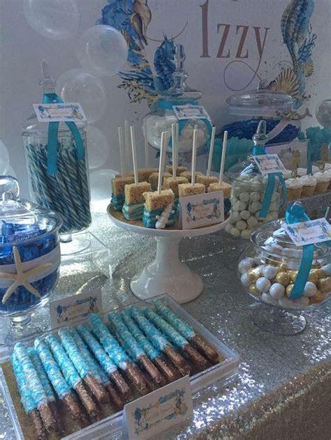 sea birthday party ideas   party food