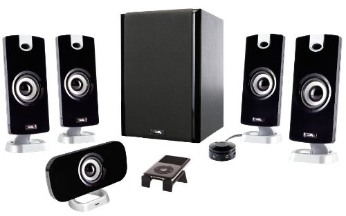 Cyber Acoustics CA-5402 Platinum Series High Performance 5.1 Speaker System