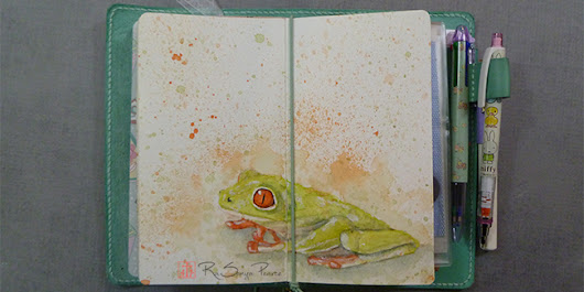 Froggy, Art 365-16-30 - Faithworks Art Studio