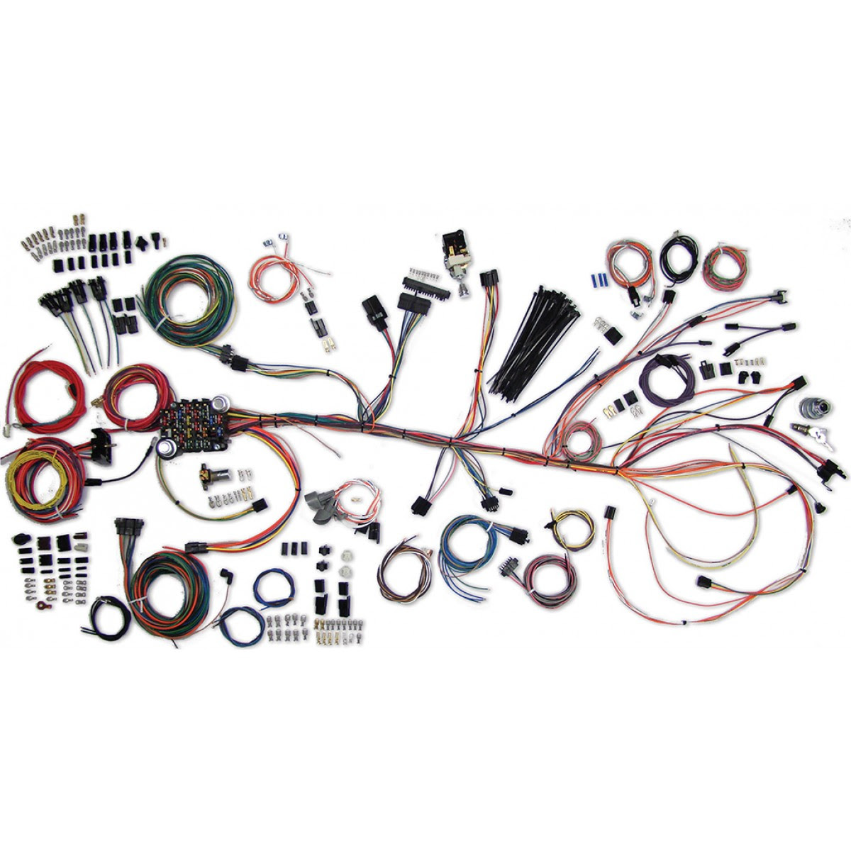D5228 1968 Chevelle Horn Relay Wiring Harness Wiring Resources