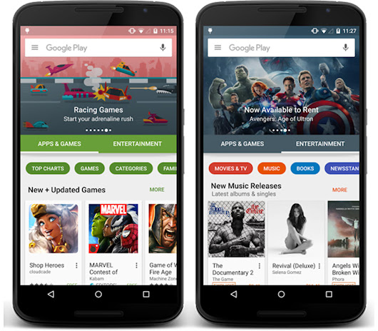 Google's Android Play Store is set to recieve an extensive redesign | MobileSyrup.com
