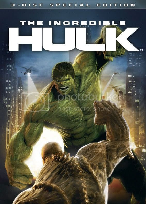 DVD do Hulk