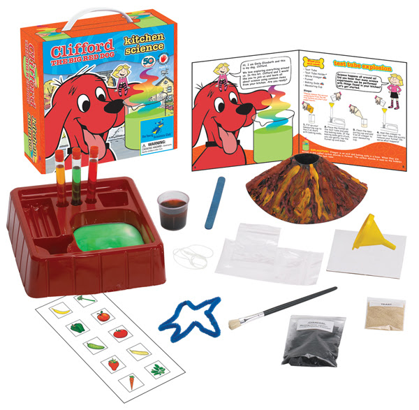 Clifford The Big Red Dog: Kitchen Science
