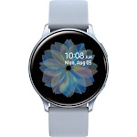 Samsung - Galaxy Watch Active2 Smartwatch 40mm Aluminum - Cloud Silver