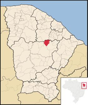Localização de Choró