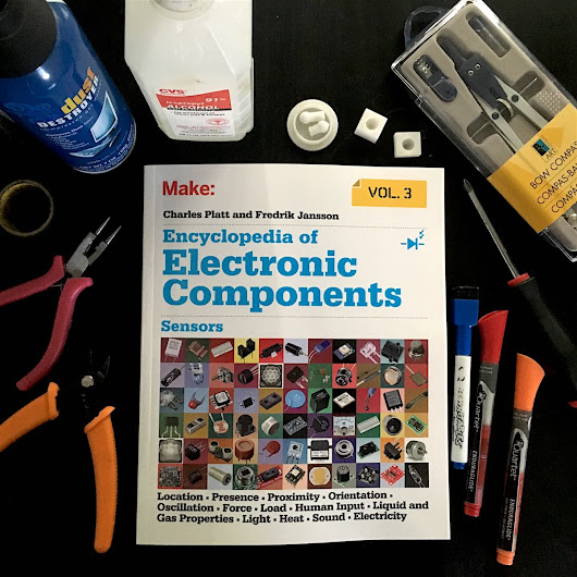 Sensors – The final volume in an impressive series of electronics guides for 21st-century makers