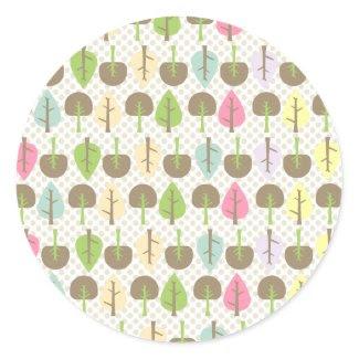 Woodland Cupcake Topper/Sticker