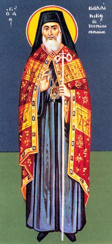 IMG ST. CALLINICUS, of Cernica, Bishop of Rimnicului in Romania