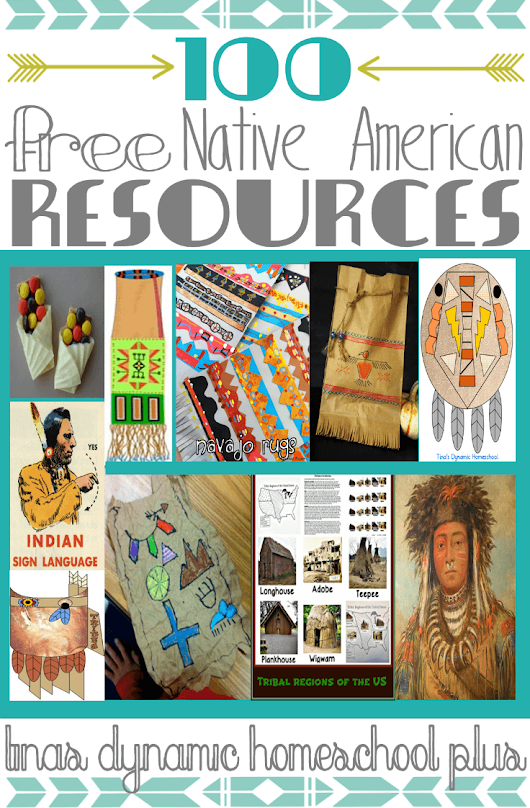 100 Free Native American Resources