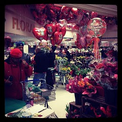 Valentine's madness at my Kroger