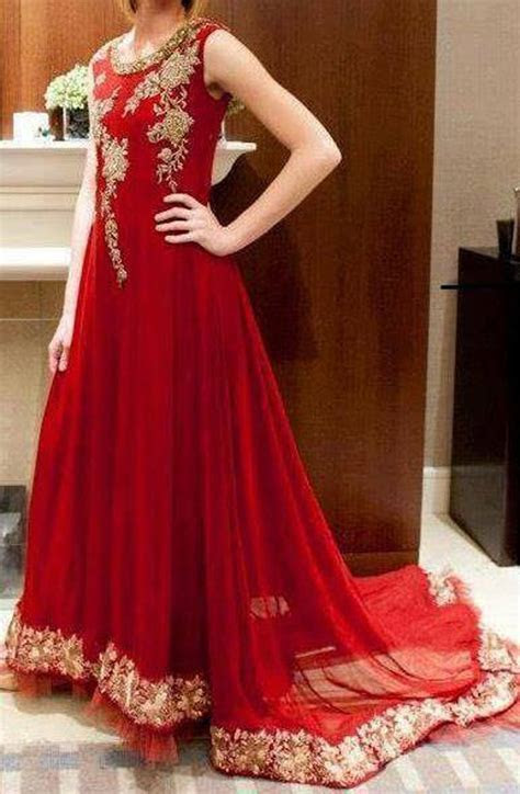 Latest Pakistani Wedding Frocks Designs 2019 Party Dresses