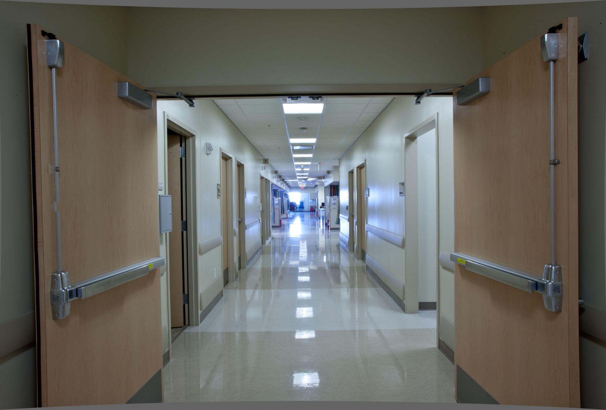 Cross Corridor Fire Doors LBR