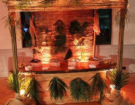 Tiki bar for Caribbean themed event!   Decor Items in 2019