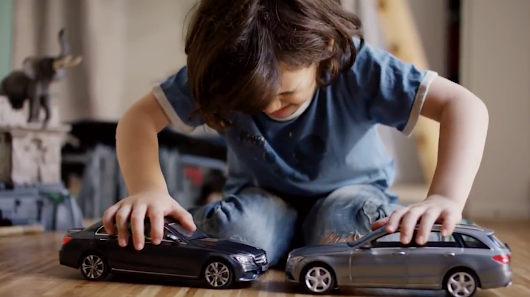 Kids Are Given Toy Cars That Can't Crash in This Amusingly Mean Mercedes-Benz Ad