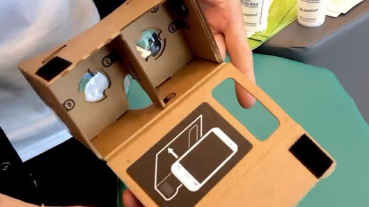 Google's DIY virtual reality headset