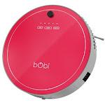 bObsweep PetHair Robotic Vacuum Cleaner and Mop- Scarlet