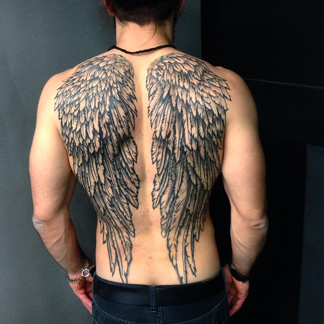 65 Best Angel Wings Tattoos Designs Meanings Top Ideas 2018