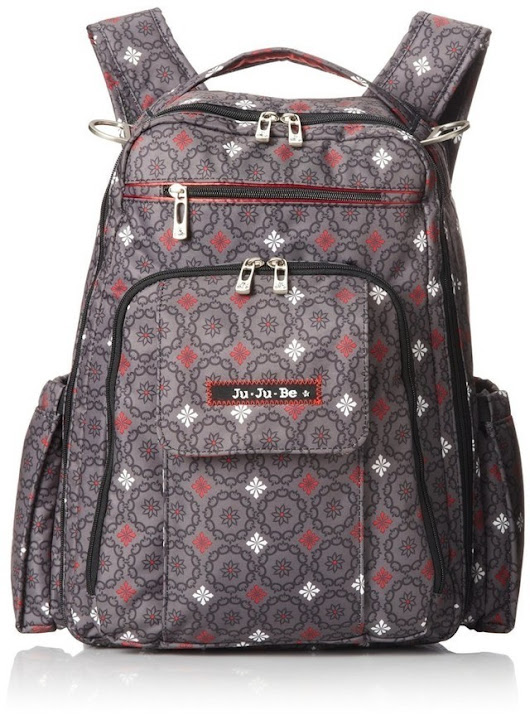 Ju-ju-be be right back backpack style diaper bag review