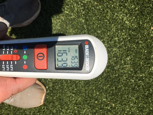 "Bats Grounds Crew on Twitter: ""AstroTurf temps for soccer today!! """