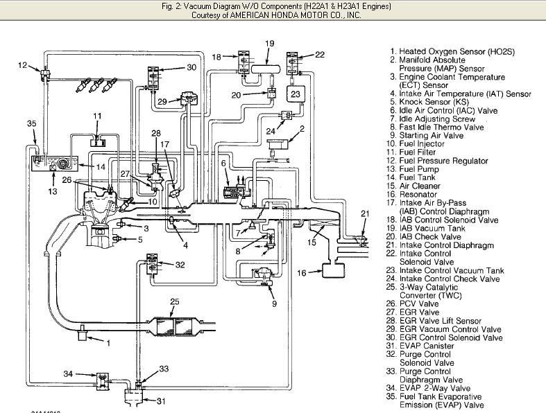 1982 Honda prelude wiring diagram
