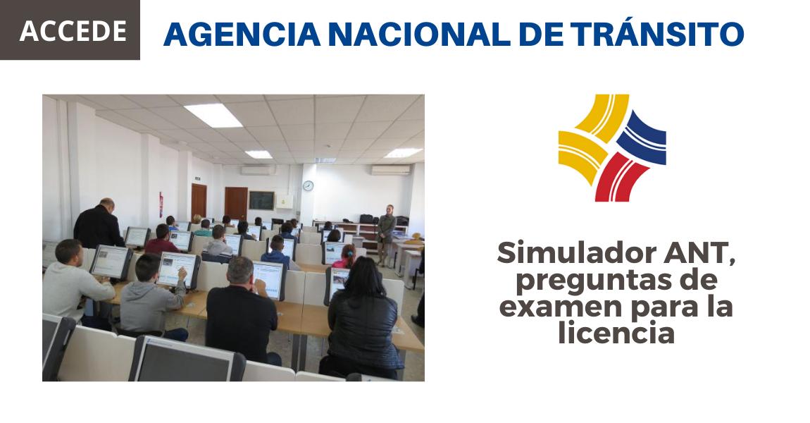 Preguntas Licencias Tipo B Ant Agencia Nacional De Transito Ecuadorlegalonline