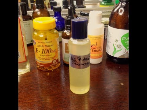 DIY Eye Makeup Remover that makes Eyelashes grow and minimizes Crow's Feet