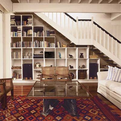 Build Beneath Living Room Stairs | Smart Storage Solutions | This ...