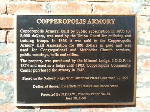 Copperopolis Armory