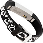French Bull - Band for Fitbit Alta and Alta HR - Black/White