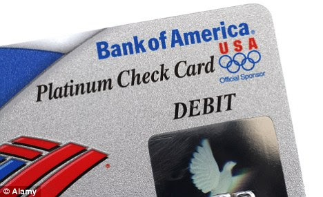Bank of America debit card fees dropped after customer backlash | Daily Mail Online