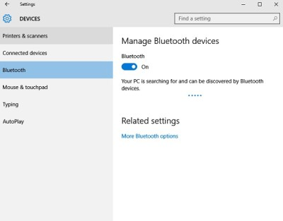 How to Enable Bluetooth in Windows 10?