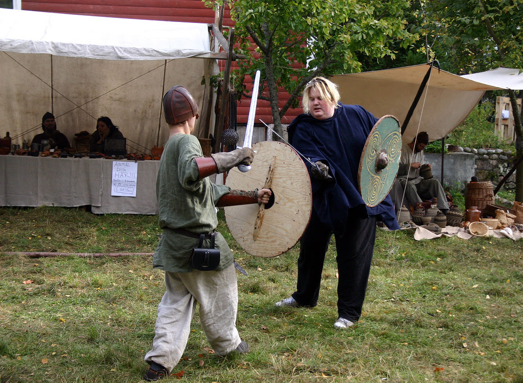Viking Fighting