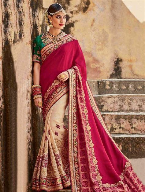Indian Wedding Saree Latest Designs & Trends 2017 2018