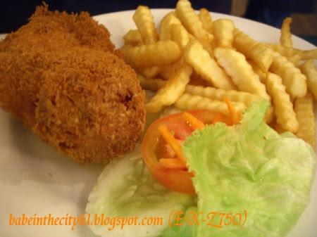 chicken kiev RM19.50