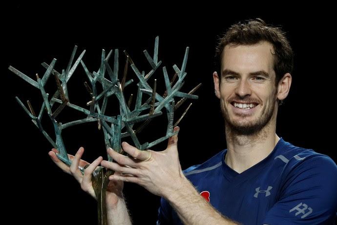 Andy Murray título Masters 1000 Paris tênis (Foto: REUTERS/Gonzalo Fuentes)