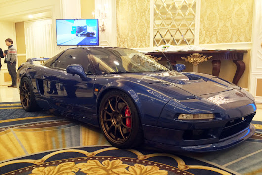 Clarion Unveils Tricked-Out 1991 Acura NSX Restomod At CES - Guys Gab