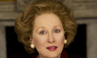 Streep plays the Iron Lady