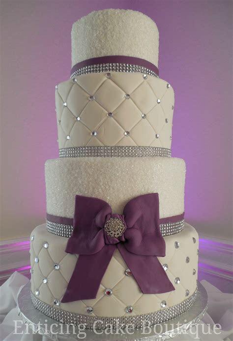 Swarowski Crystals Wedding Cake   CakeCentral.com