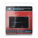 Vantec All In 1 UGT-CR513-BK Card reader - external - all-in-1