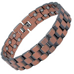 Ultra Strength Magnetic Therapy Bracelet Pure Copper President Chain