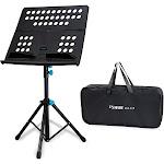folding portable sheet music stand shelf kit